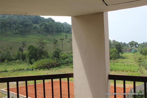 Fabulous view from the rooms in Wayanad Gate Hotel
