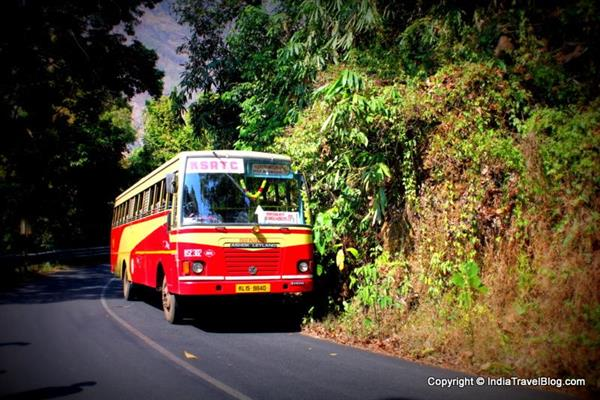 Bus accident in Munnar