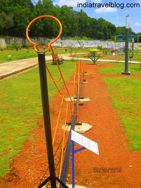 Play area in Kochi Science Park