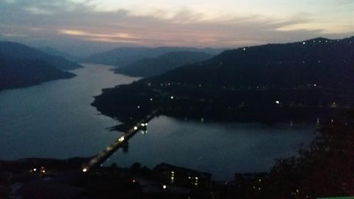 Evening view of Lavassa from view point