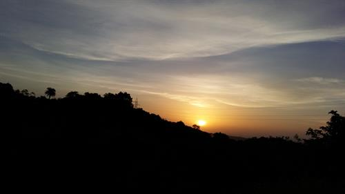 Sunrise near Lavassa gate