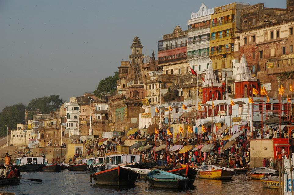 Varanasi a famous tourist destination in India