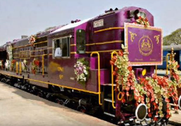 The Golden Chariot luxury trains in India