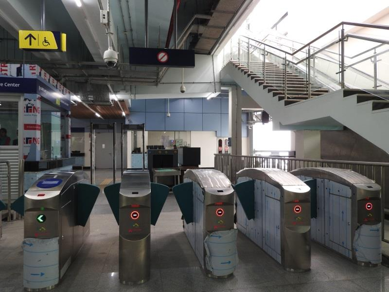 Kochi Metro Ticket Gate