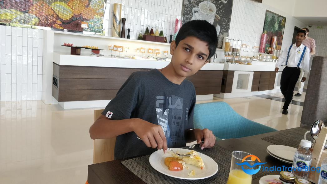 Novotel Hotel Kochi - Enjoying Breakfast