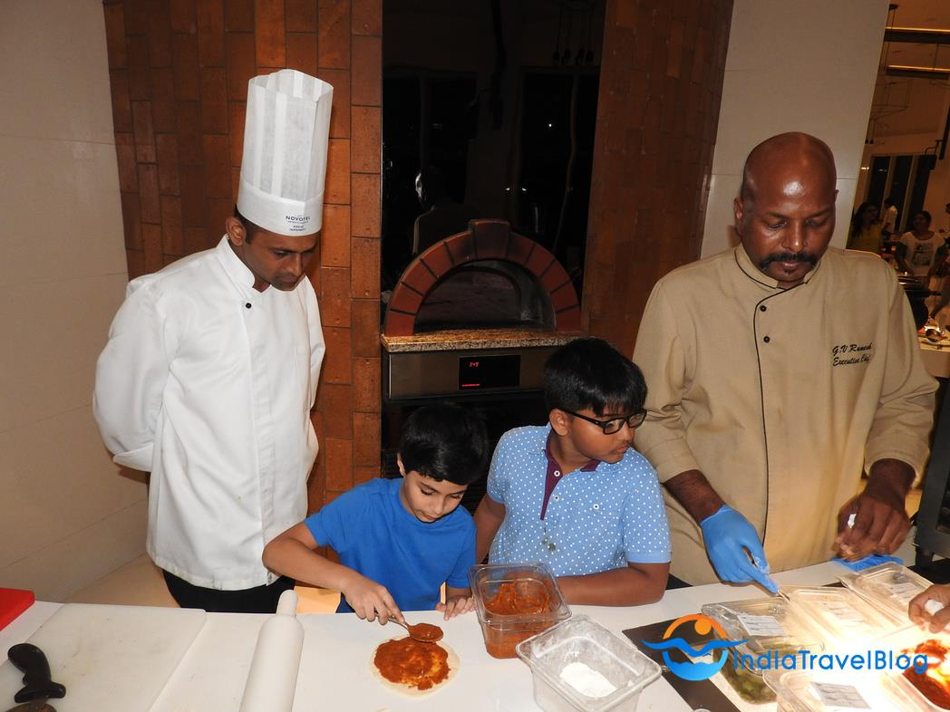 Novotel Hotel Kochi - Make Your Own Pizza
