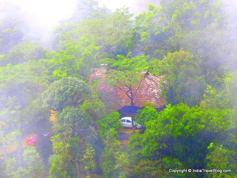Vagamon Heights resort located near to Moon hill