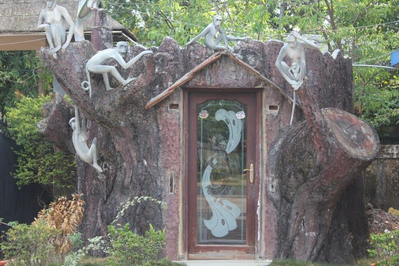 The tree house at Kochi Country Club