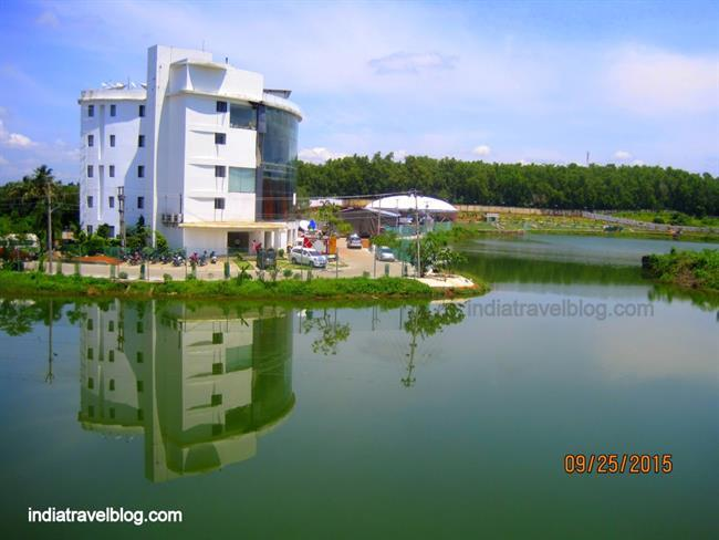 A complete view of Childrens Science Park , Kalamassery