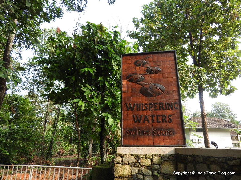 Whispering Waters Nameboard