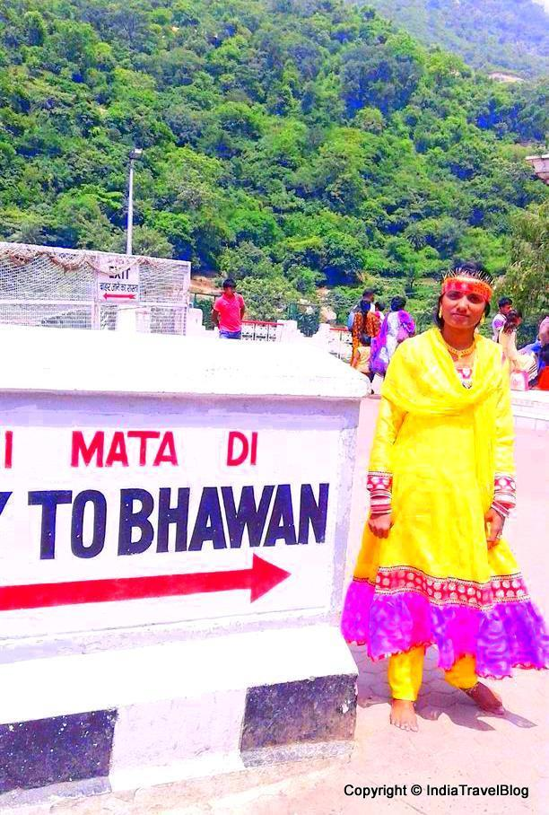 Way to Vaishno Devi Shrine