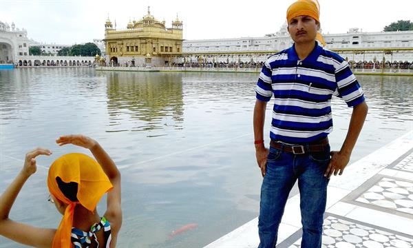 A visit to Golden Temple Punjab