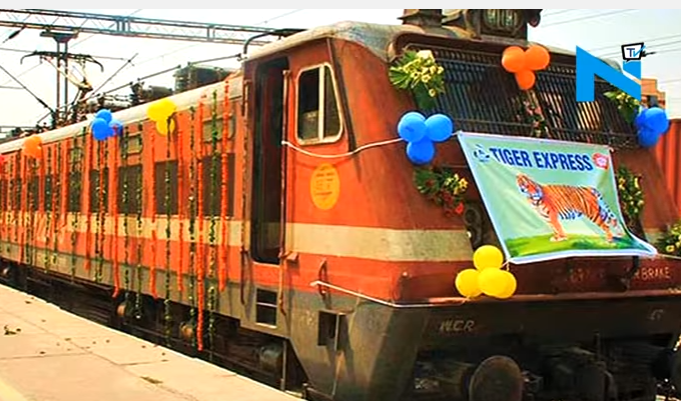 Tiger Express Semi Luxury Tourist Train
