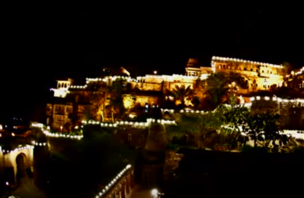 Neemrana Fort Destination wedding location