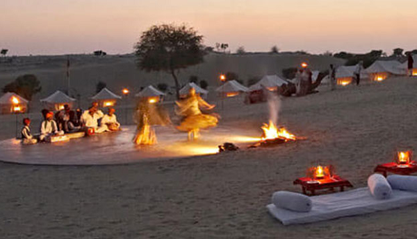 Top Places For Desert Amp Night Camping In Rajasthan